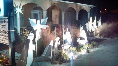 Nativity Display at Living Water