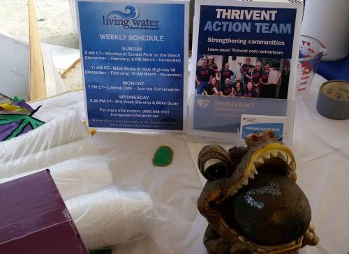 Thanks for Thrivent Financial and their support of Living Water's gumbo entry